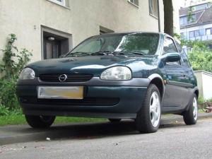 Opel Corsa B Frontansicht