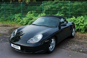 Porsche Boxster geschlossen