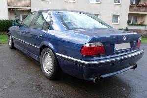 BMW 7er E38 hinten links