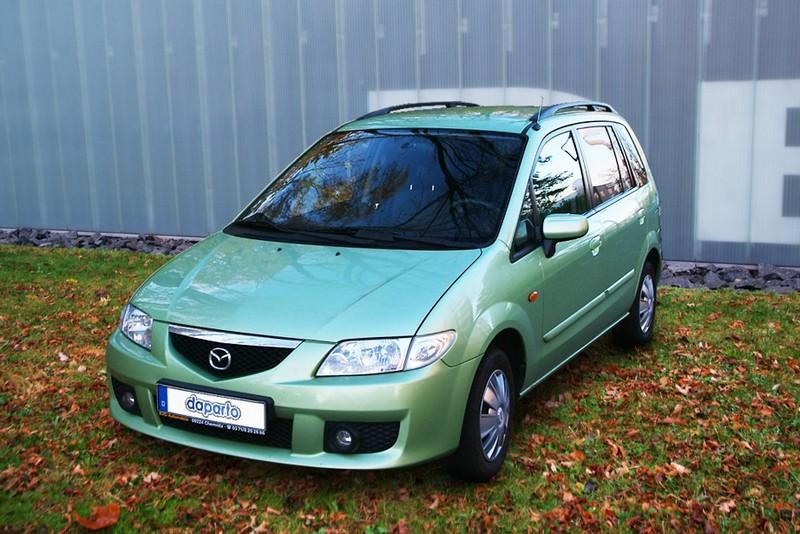 Mazda Premacy - Kompaktvan mit geringen Mängeln