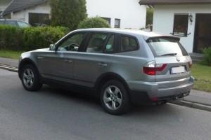BMW X3 hinten links