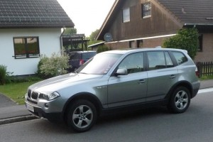 BMW X3 vorne links