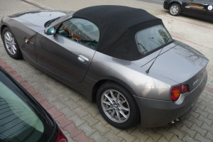 BMW Z4 Roadster E85 hinten links