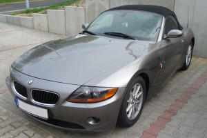 BMW Z4 Typ E85 vorne links