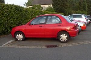 Mazda 121 Typ DB Seitenansicht