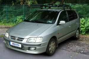 Mitsubishi Space Star vor Facelift