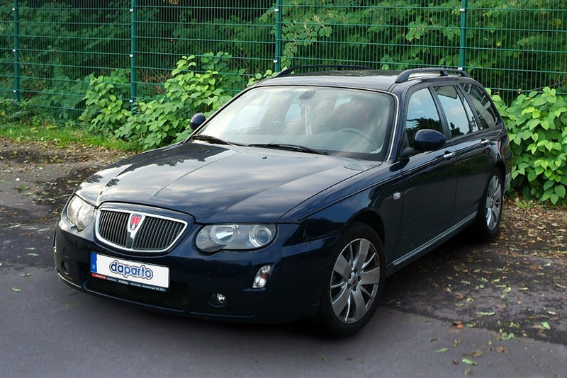Rover 75 und MG ZT - unbekannt bis zum Untergang