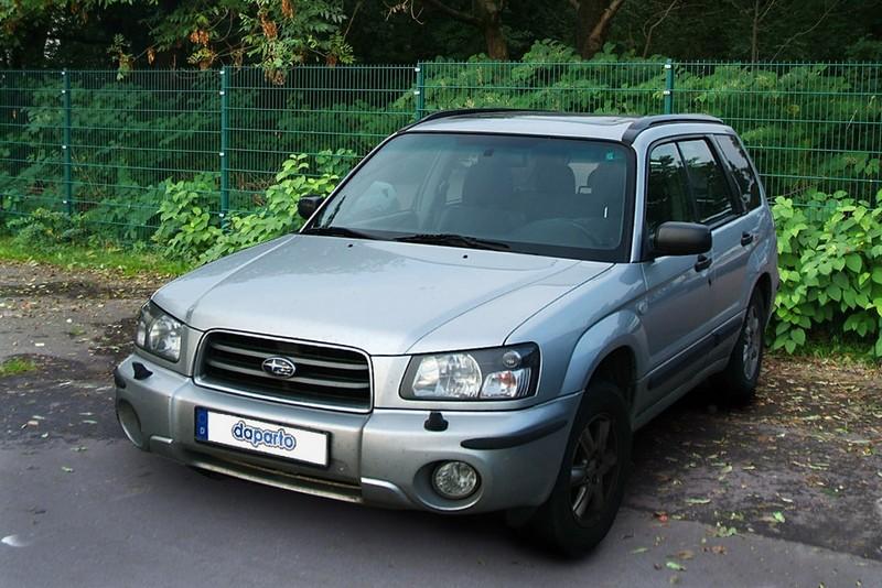 Subaru Forester - nicht nur für Jäger