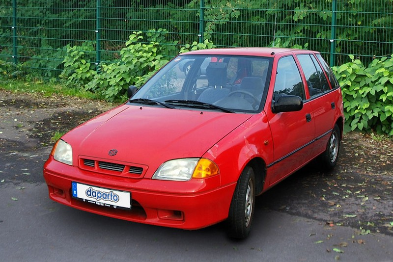 Suzuki Swift I bis III - die unscheinbare Alternative