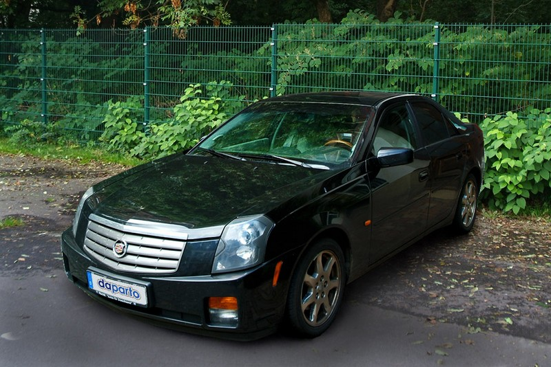 Cadillac CTS - hierzulande noch immer ein Exot