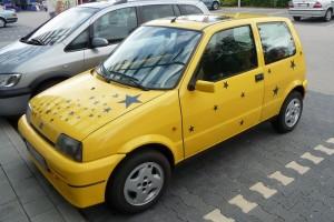 Fiat Cinquecento Sporting Front schräg