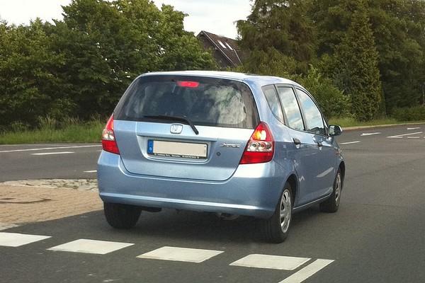 Honda Jazz II - ganz schön variabler Kleinwagen
