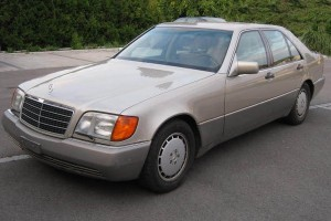 Mercedes-Benz S-Klasse W 140 Front schräg