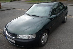 Opel Vectra B Front