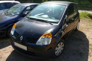 Renault Modus Front schräg vor Facelift