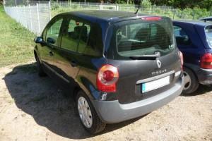 Renault Modus Heck schräg vor Facelift