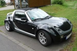 Smart Roadster Front schräg
