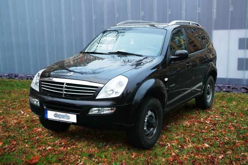 SsangYong Rexton - noch ein günstiger Mercedes-Klon