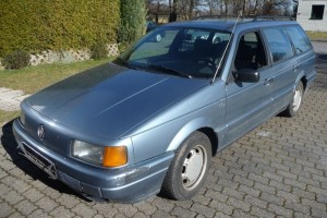VW Passat Variant B3 35i Front schräg