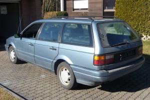 VW Passat Variant B3 35i Heck schräg