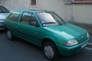 Citroën AX nach Modellpflege