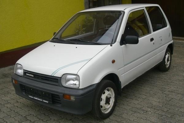 Daihatsu Cuore (L201) - alles sehr klein