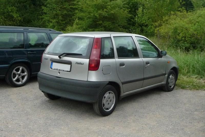 Fiat Punto (Typ 176) - mehr Platz als man ahnt