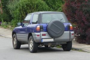 Toyota RAV4 I Heck