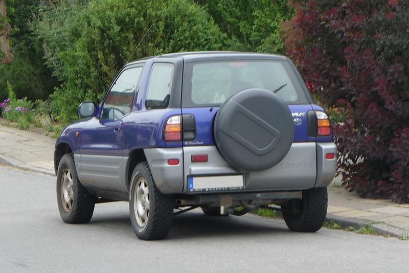 Toyota RAV4 I - Begründer einer neuen Klasse