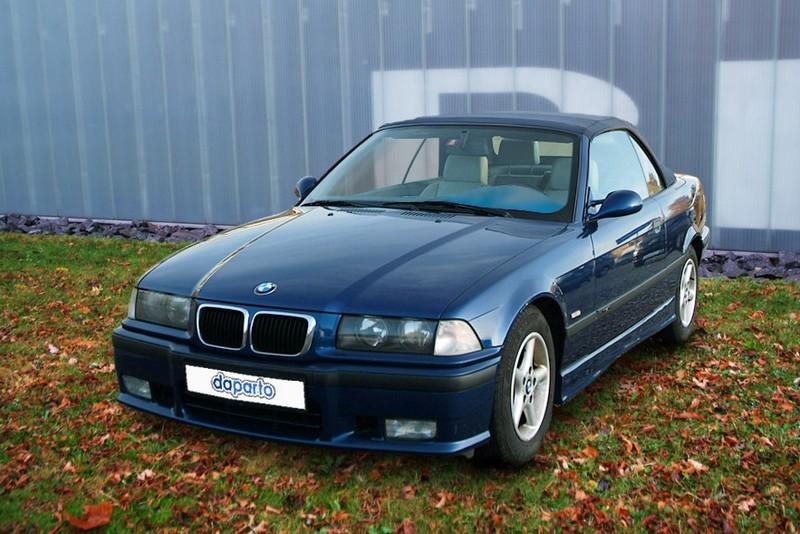 BMW 3er E36 - kein Platz , außer für Mängel