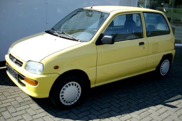 Daihatsu Cuore (L501) - moderner, aber noch immer winzig