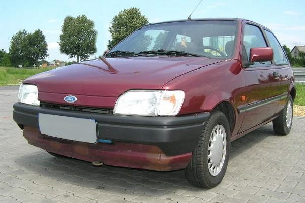 Ford Fiesta '89 - da sieht man rot