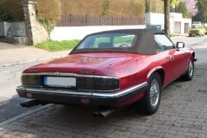 Jaguar XJS V12 Cabriolet Heck