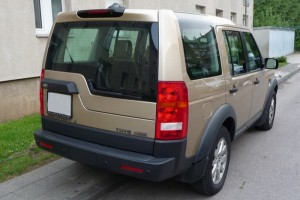 Land Rover Discovery 3 Heck