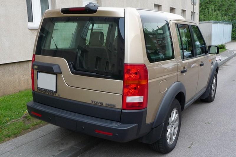 Land Rover Discovery 3 - größer und neu gestaltet