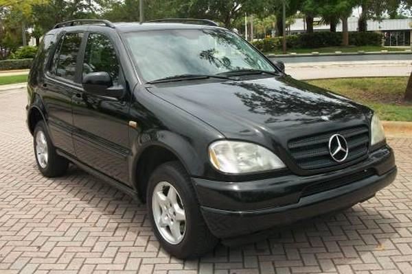 Mercedes-Benz M-Klasse W 163 - vom Jurassic Park in den Großstadtdschungel