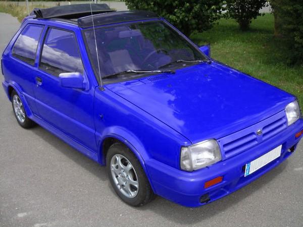 Nissan Micra K10 - spartanisch und rostend