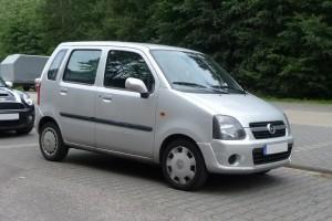 Opel Agila A Front