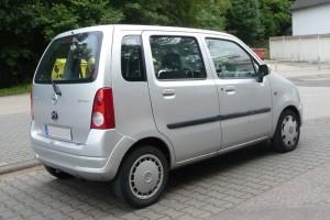 Opel Agila A Heck