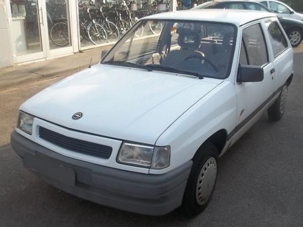 Opel Corsa A - seine Zeit ist abgelaufen