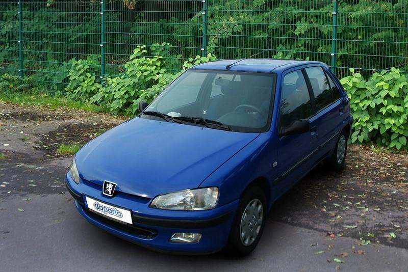 Peugeot 106 - mittlerweile nicht mehr erste Wahl