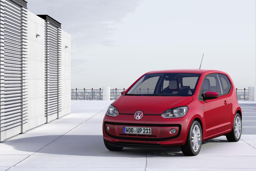VW up!: Neuer Kleinwagen ganz groß