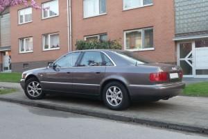 Audi A8 Typ D2 / 4E Heck
