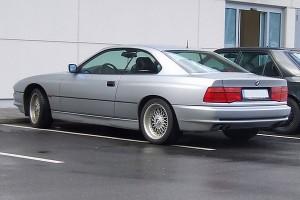 BMW 8er E31 Heck