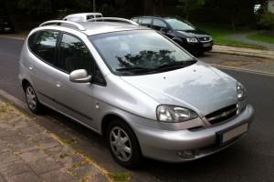 Daewoo / Chevrolet Rezzo Front