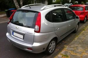 Chevrolet Rezzo Heck (Daewoo)