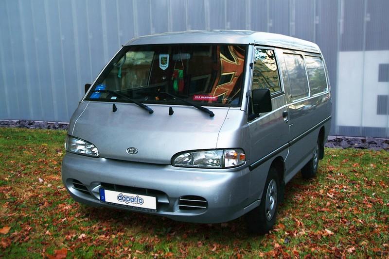 Hyundai H 100 Porter - viele Namen, ein Bus / Transporter