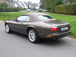Jaguar XK8 Cabriolet Typ X100 Front