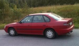 Subaru Legacy II Typ BD / BG