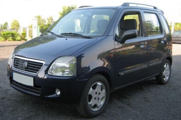Suzuki Wagon R+ - in der 2. Generation ohne Griff